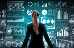 Big,Data,Technology,For,Business,Finance,Analytic,Concept.,Modern,Graphic