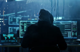 Dangerous,Hooded,Hacker,Breaks,Into,Government,Data,Servers,And,Infects