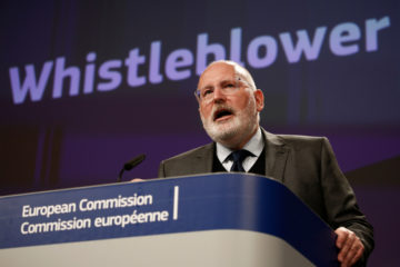 European,Commission,First,Vice-president,Frans,Timmermans,Gives,A,Press,Conference